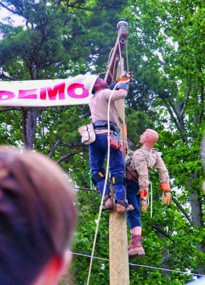 Pole Top Rescue Demo