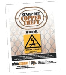 Stamp out copper theft