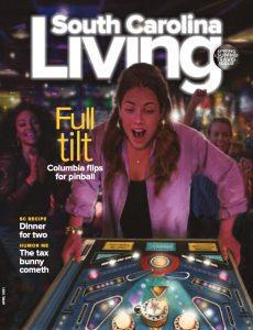 South Carolina Living magazine, April 2021 cover