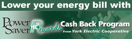 Lower your energy bill with Power Saver Rewards Cash Back Program