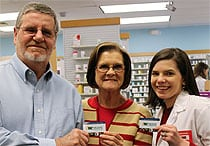 Steve and Judy Elliott find value in their Co-op Connections Discount Card!