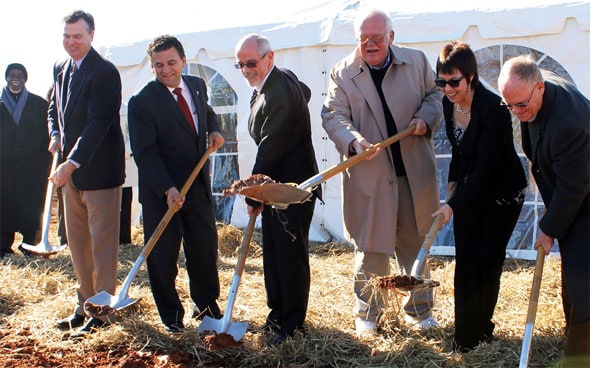 Silcotech North America Inc. held a ceremonial ground breaking in York Electric's East York Industrial Park.