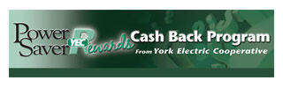 Power Saver Rewards Cash Back Program