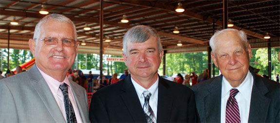 YEC Directors Richard M. Roach, Tommie Bratton and Paul D. Poston.