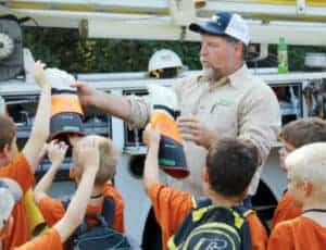 YEC teaches valuable electrical-safety lessons throughout the year.