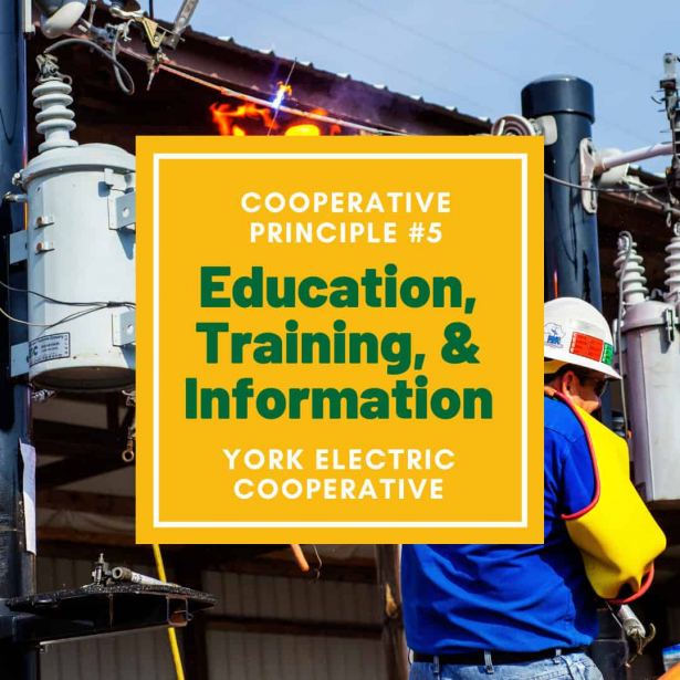 Cooperative Principle #5 is Education, Training, and Information