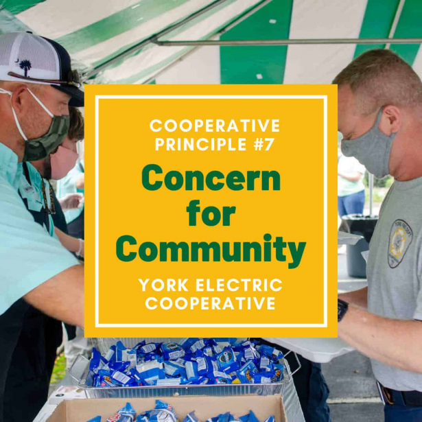 Cooperative Principle #7 is Concern for Community