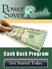 YEC Power Saver Rewards Cash Back Program
