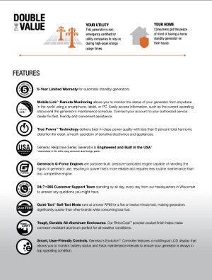[PDF] Generac Response Series Brochures
