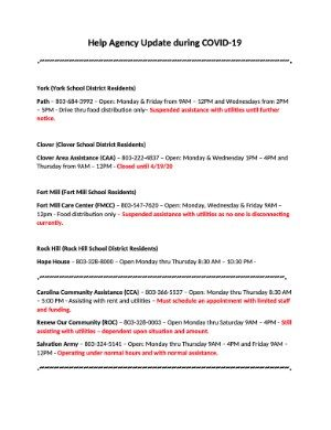 [PDF] Help Agency Update - COVID-19