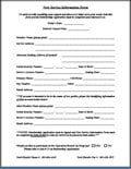 [PDF] New Service Information Form & Application