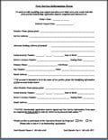 [PDF] New Service Information Form & Application