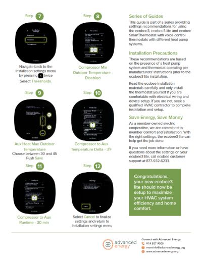 [PDF] ecobee3 Lite Quick Setup Guide