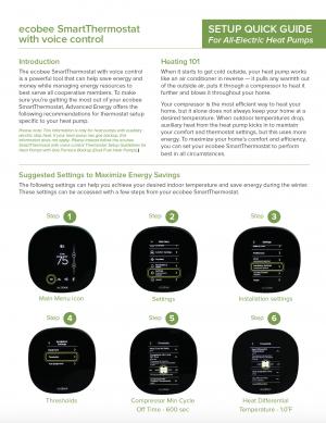 [PDF] ecobee Voice Control Quick Setup Guide