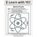[PDF] Electron Puzzle Coloring Page