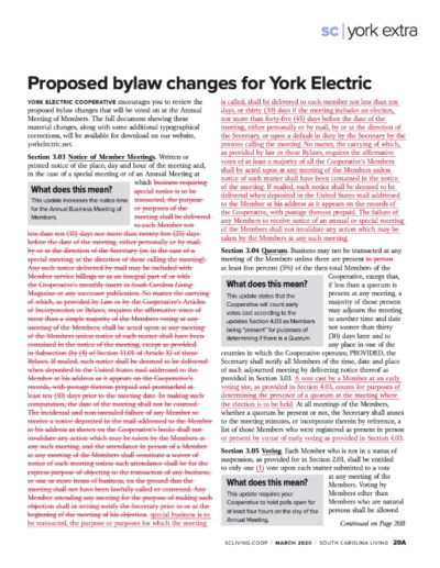 [PDF] 2020 Proposed bylaw changes