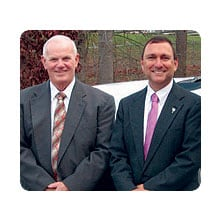 Charles R. (Dick) Burrell YEC Board Chairman & Paul Basha, YEC President and Chief Executive Officer